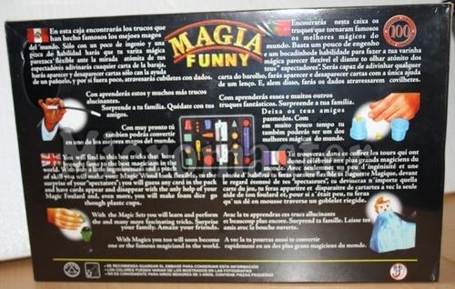 set de magia funny p/ niños de 5 años a mas -micromaster