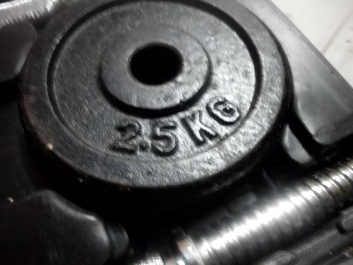 set de mancuernas amco 18 kilos preguntar