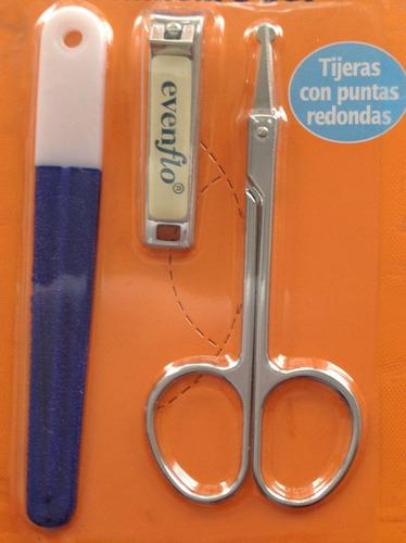 set de manicure para bebe evenflo lima,cortaúñas,tijeras