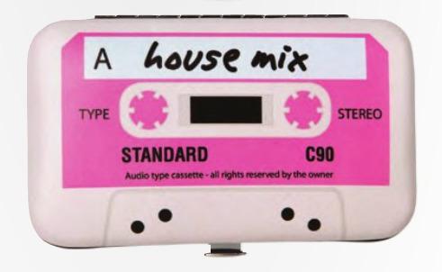 set de manicure pop art | cassette rosado | 5 piezas dci