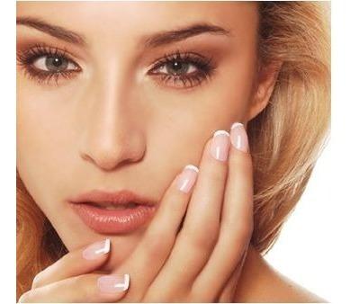 set de manicuria y pedicuria gama nails spa con secador uñas