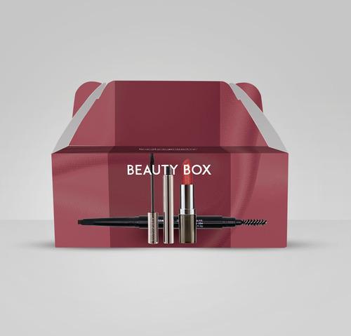 set de maquillaje: labial/máscara/brow assist - bodyography