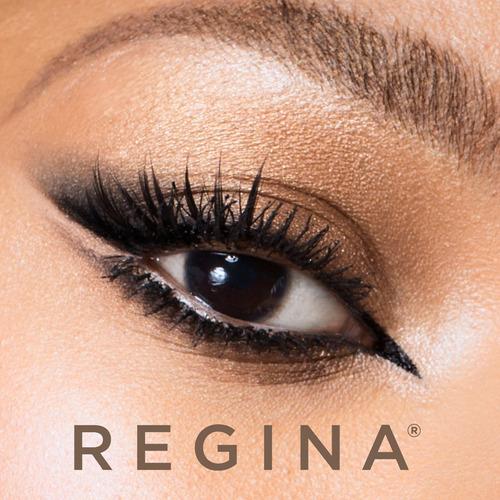 set de maquillaje ojos delineados regina
