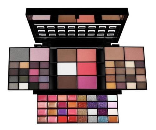 set de maquillaje todo en uno, 74 colores paleta combinada