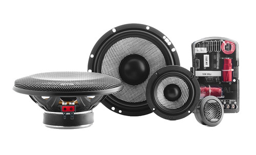 set de medios focal 6.5 access 165as3 3 vias 320 watts max