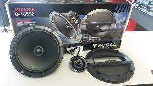 set de medios focal auditor r-165s2 bocinas 6.5