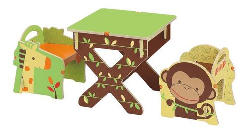 set de mesa y silla de juguete buildex generic diseño de