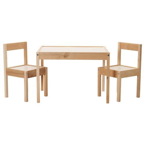 set de mesita y sillas para niños marca ikea