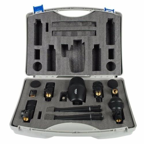 set de microfono takstar dms7as para bateria 7 mic + valija