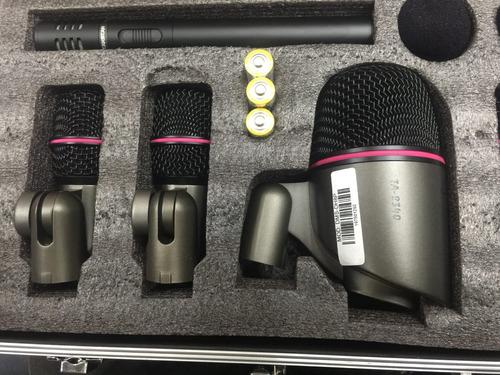 set de micrófonos para batería takstar confirmar existencia