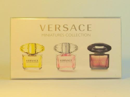 set de miniaturas de perfumes versace collection