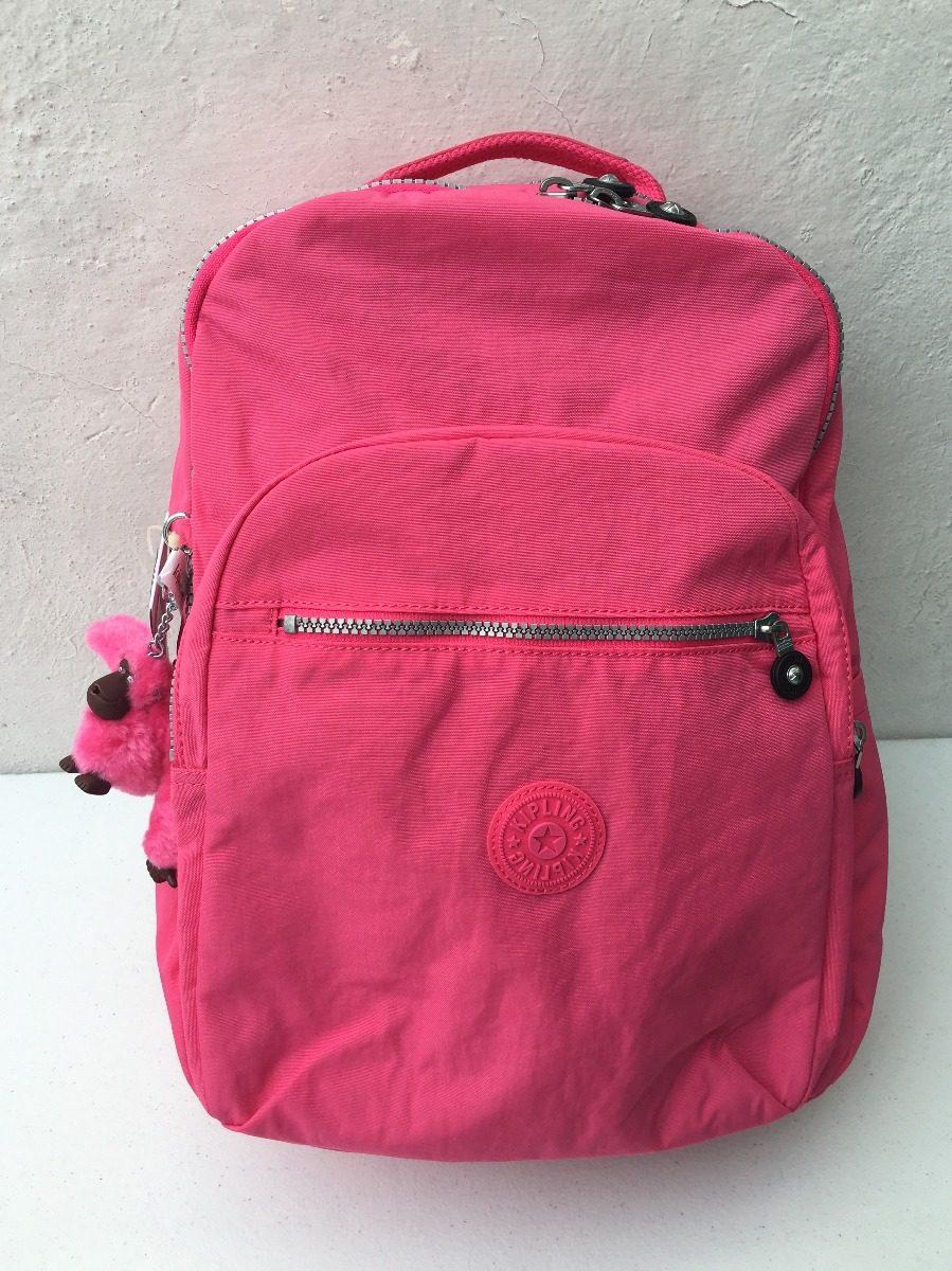 6ae5b6c5c set de mochila lonchera y lapicera kipling rosa original. Cargando zoom.
