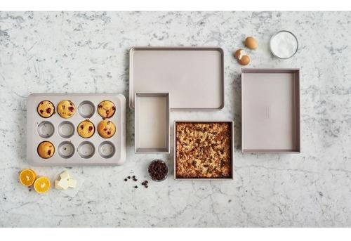 set de moldes para cocinar kitchenaid cupcakes tortas muffin