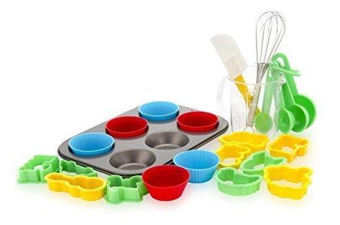 set de muffins para niños de 24 piezas boxiki kitchen, 6 mol