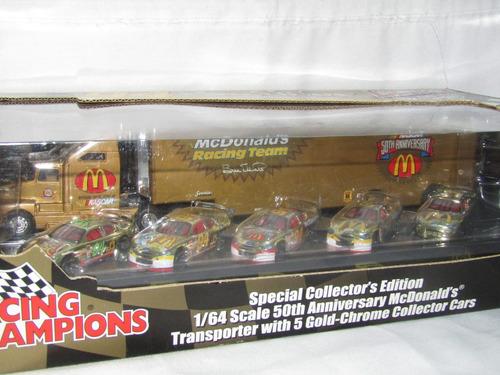 set de nascar trailer y  autos nascar numero 94 edicion ltda