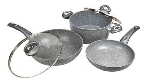 set de ollas de cerámica y piedra megastone 2.0 pandora