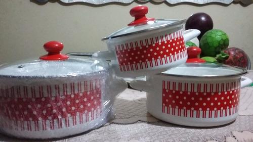 set de ollas - nuevo en caja