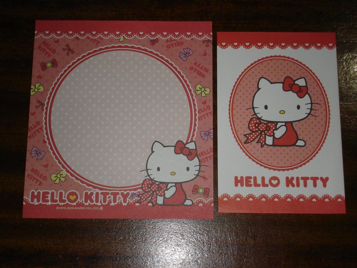 fba58f46420d Set De Papel Carta Y Sobre De Hello Kitty - Sanrio Pc01 -45 -   144 ...