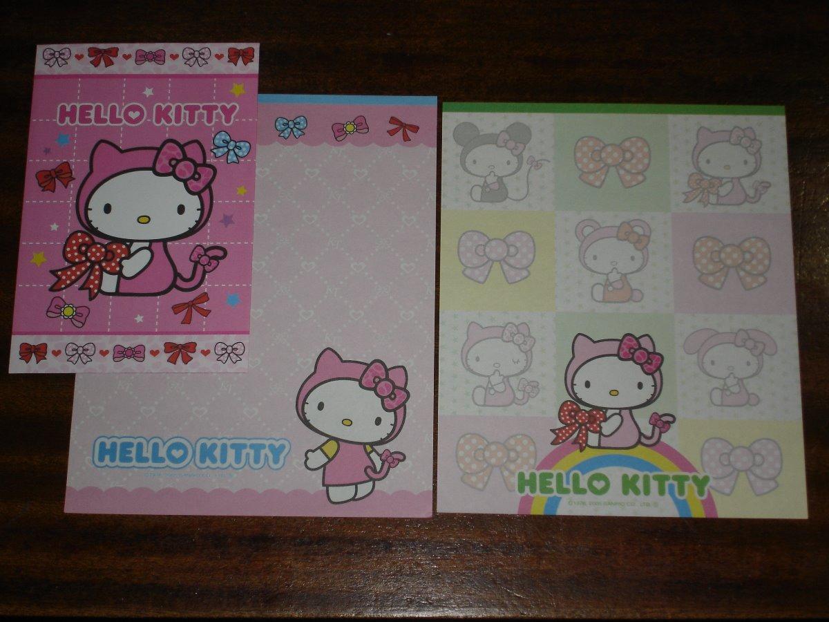 a23271248270 Set De Papel Carta Y Sobre De Hello Kitty - Sanrio Pc02 -39 -   209 ...