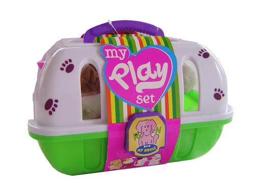 set de peluquería de mascota juguetes