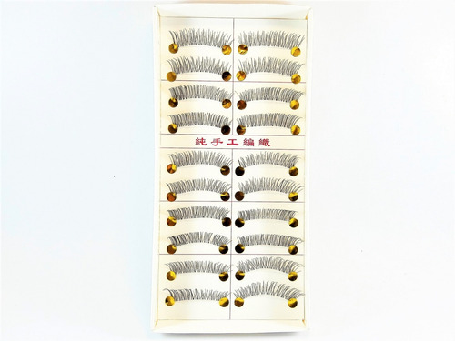 set de pestañas postizas x10 pares cod8035