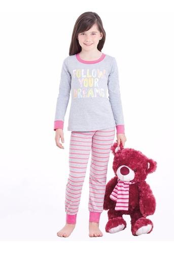 set de pijama con pantalón y manga larga 8217 ilusión