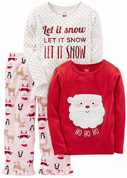 24d0ee7fcc Set De Pijama Para Niñas De Navidad Marca Carters Talla 4t ...