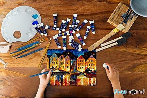 set de pintura al óleo24pinturas de aceitejuego de ce