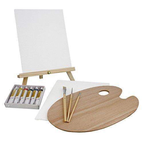 set de pintura en aceite u.s. art supply con mini