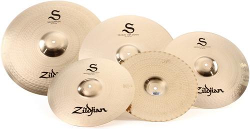 set de platillos zildjian s performer hh14 cr16 cr18 rd20