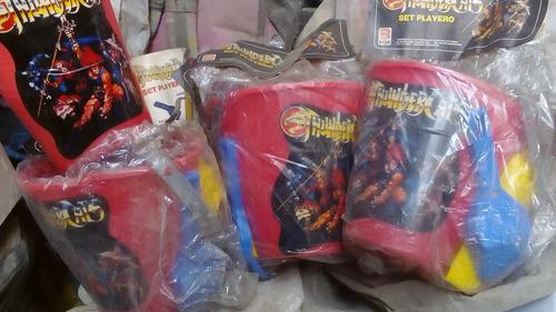 set de playa de los thundercats vintages