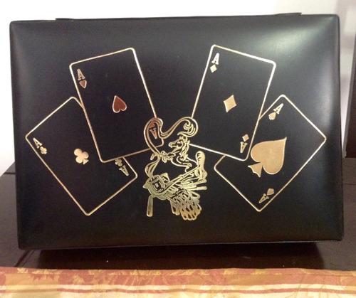 set de poker antiguo