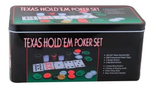 set de poker tipo casino texas hold ref. mck6000 -800