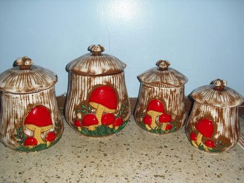 set de potes de cocina de ceramica