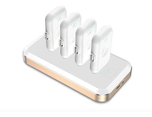 set de powerbank magnéticos portátiles facil uso familiar