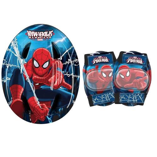 set de proteccion spiderman