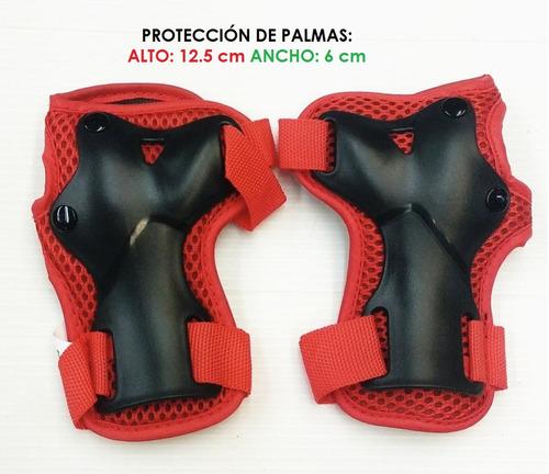 set de protecciones de patinaje para niños 2 a 6 años blazer