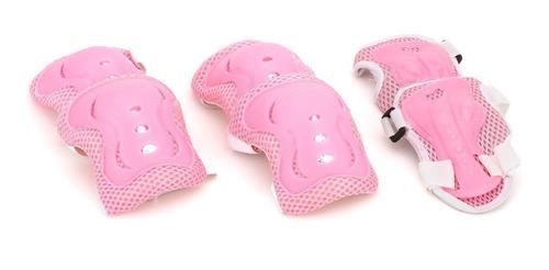 set de protecciones para niña patines skate