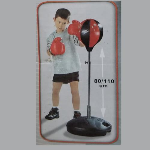 set de puching ball y guante, boxeo niños