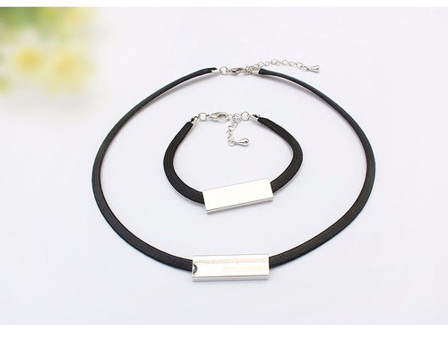 set de pulsera con collar - 184