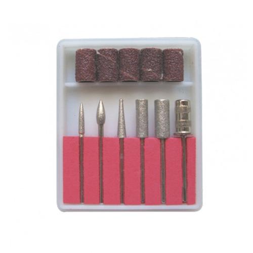 set de puntas para pulidor de uñas