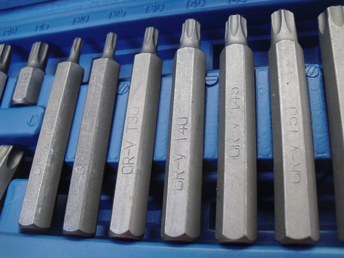 set de puntas torx nuevas 16 piezas ,envios