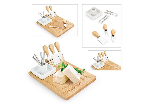 set de quesos cheddar 9pcs.