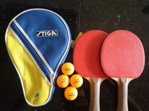 set de raqueta de ping pong
