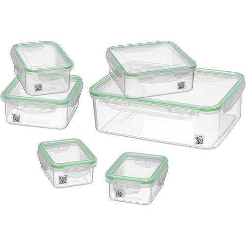 set de recipientes para cuisinart smart track 6 piezas
