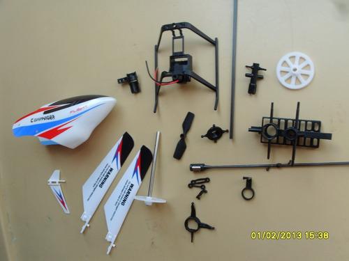 set de refacciones helicoptero wl toys 911 pro-v2
