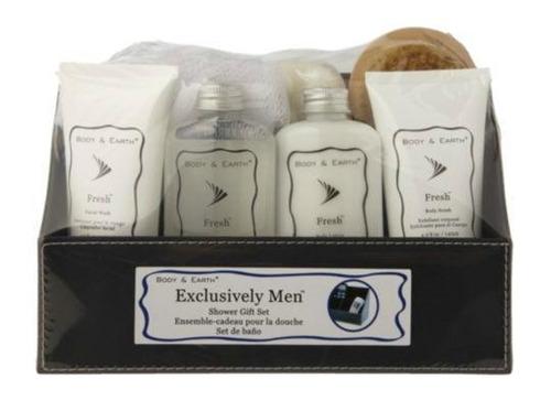 set de regalo para hombre -kit de baño completo -8 productos