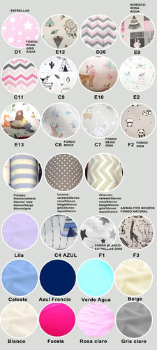 set de sábanas para cuna (3 piezas)