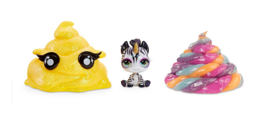 set de slime y personaje sorpresa coleccionable poopsie