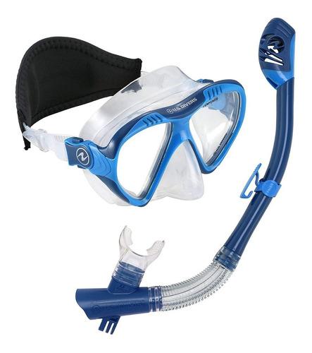 set de snorkel  magellan lx purge + tucson lx go pro rosario